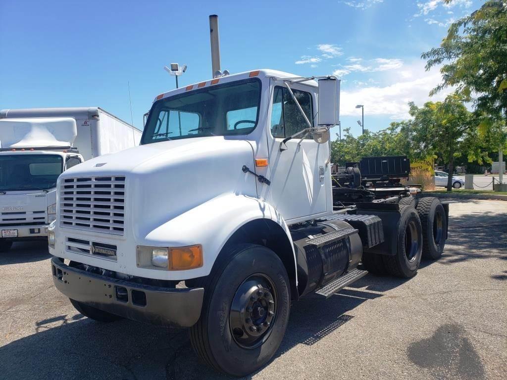 2000 International 8100 Tandem Axle Day Cab Truck, DT530, 330HP, 9 Spd For  Sale | Salt Lake City, UT | 89176 | MyLittleSalesman com
