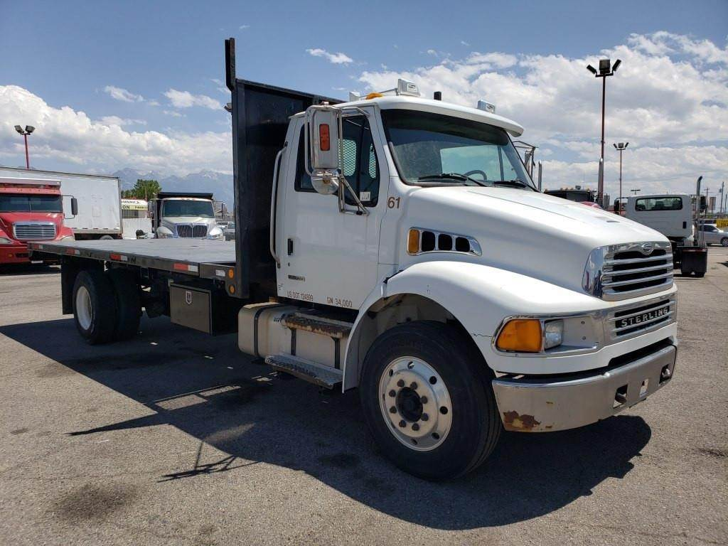 2008 Sterling Acterra Flatbed Dump Truck For Sale Salt Lake City International Durastar Air Tank Schematic