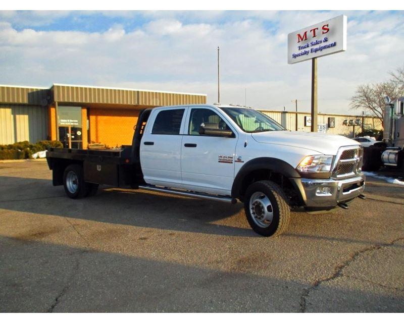 2014 Dodge Ram 4500 Flatbed Truck For Sale Salt Lake