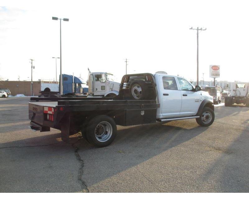 2014 dodge ram 4500 flatbed truck for sale - salt lake city  ut