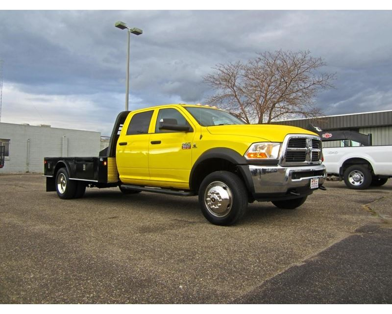 2011 dodge ram 5500 flatbed truck for sale - salt lake city  ut