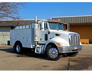 Peterbilt 330 Fuel / Lube Truck