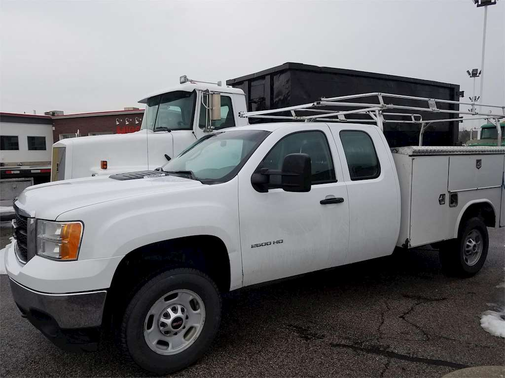 2012 gmc 2500hd service utility truck for sale salt. Black Bedroom Furniture Sets. Home Design Ideas