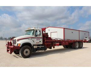 Mack CV713 Winch Truck