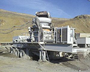 Metso Minerals HP400 Crushing Plant