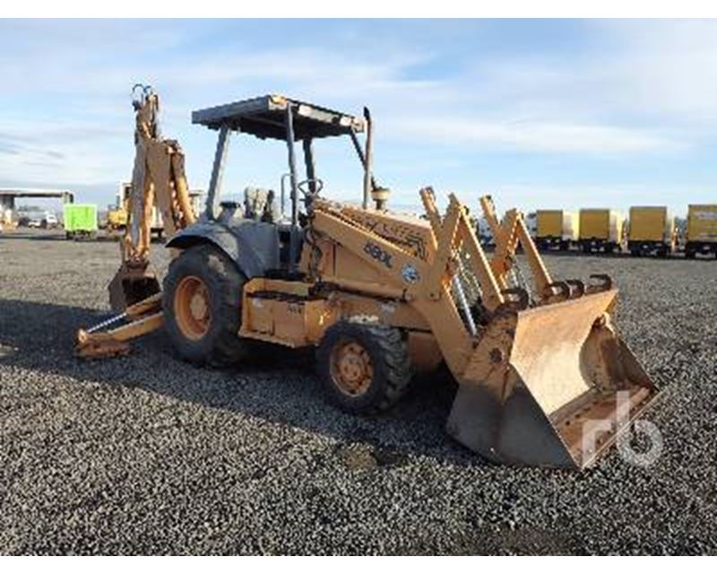 1997 Case 580l Backhoe For Sale Chehalis Wa