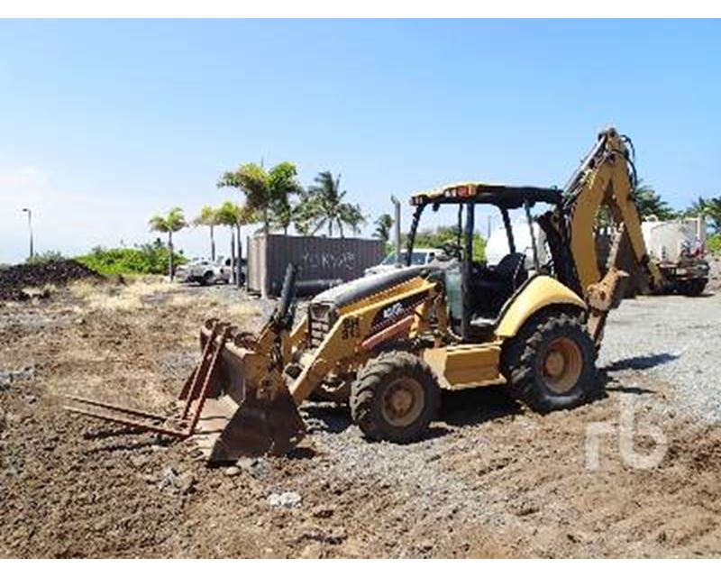 2006 Caterpillar 430e Backhoe For Sale Chehalis Wa