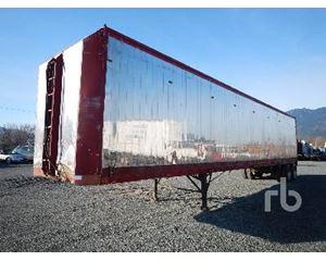 Cargo 48 Ft T/A Walking Floor Chip Trailer