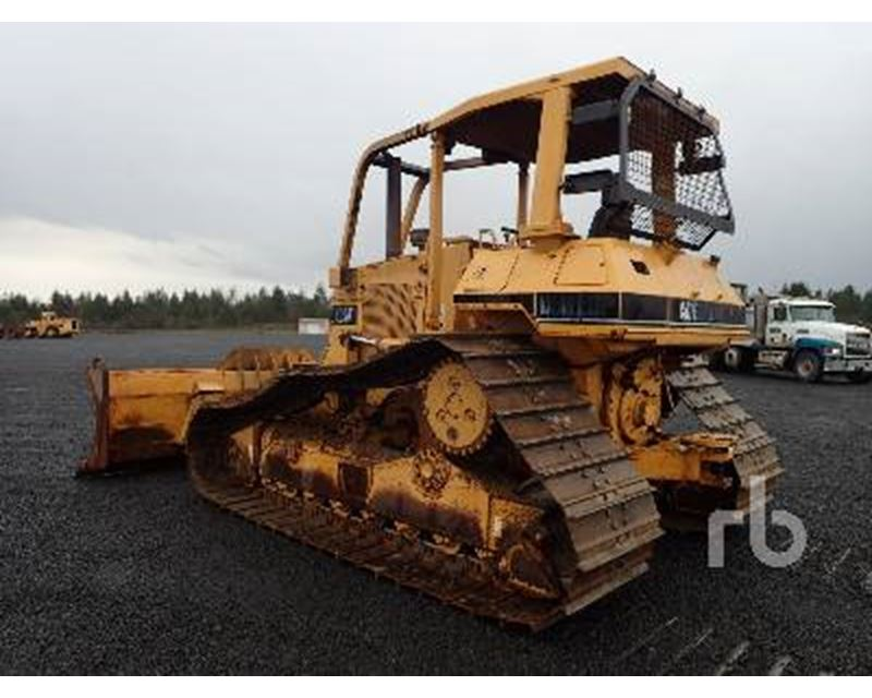 1995 Caterpillar D5h Crawler Dozer For Sale Chehalis Wa