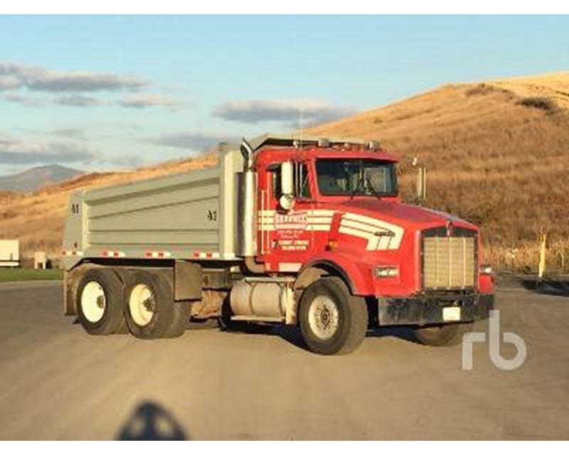 1989 Kenworth T800 Dump Truck For Sale - Spokane, WA ...Kenworth Dump Trucks For Sale Washington