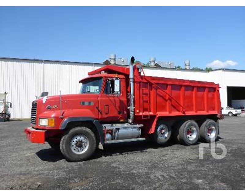 2000 Mack Tractor Truck : Mack cl dump truck for sale north east md