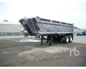 Acns 26 Ft T/A End Dump Semi Trailer