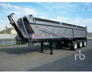 Acns 32 Ft Tri/A End Dump Semi Trailer
