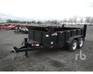 Canada Trailers 11 Ft 10 In. T/A End Dump Semi Trailer