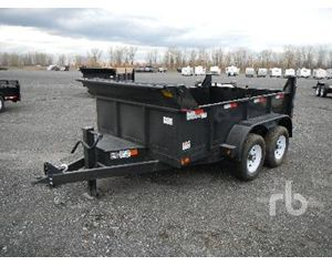 Canada Trailers 9 Ft 10 In. T/A End Dump Semi Trailer