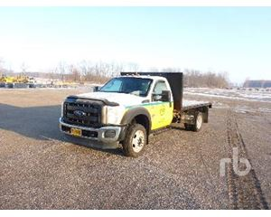Ford F-550 Flatbed Dump Truck