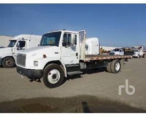 Freightliner FL70 Flatbed Dump Truck