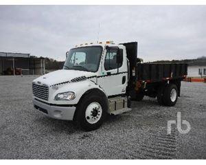 Freightliner M2106 Flatbed Dump Truck