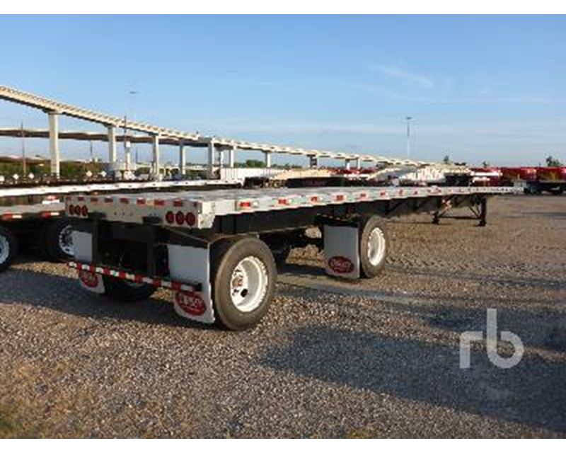 53 Foot Tractor Trailer Dimensions : Foot flatbed trailers related keywords