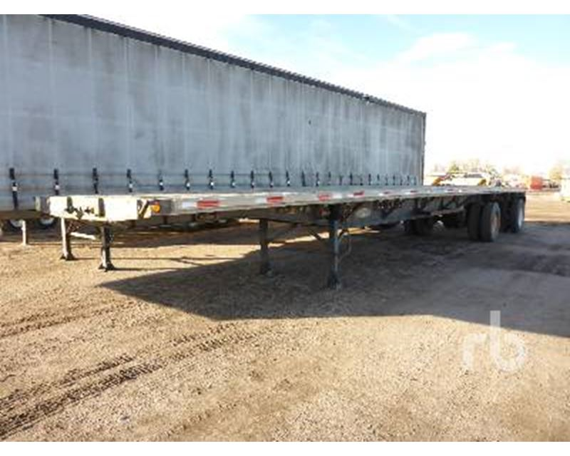 Spread Axle Trailer Weights : Fontaine ft in spread axle combinat flatbed