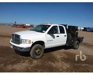 Dodge 3500 Flatbed Truck