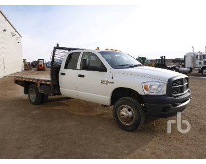 2008 dodge 3500 flatbed truck for sale saskatoon sk. Black Bedroom Furniture Sets. Home Design Ideas