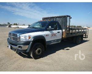 Dodge 4500 Flatbed Truck