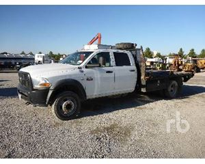 Dodge 5500 Flatbed Truck