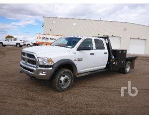 Dodge 5500HD Flatbed Truck