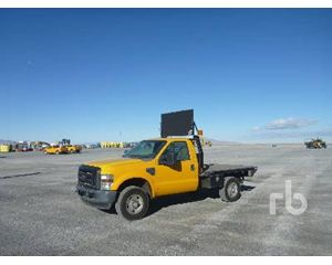 Ford F-250 Flatbed Truck