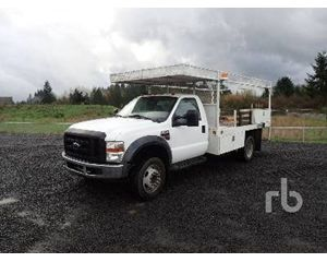 Ford F-550 Flatbed Truck
