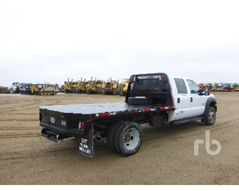 2013 Ford F 550 Flatbed Truck For Sale Nisku Ab