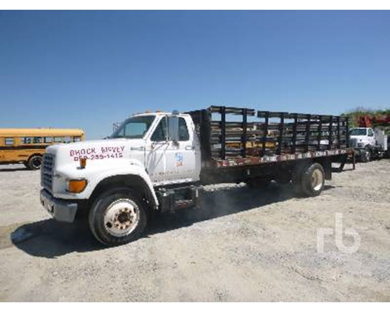 1996 ford f 700 flatbed truck for sale lexington ky. Black Bedroom Furniture Sets. Home Design Ideas