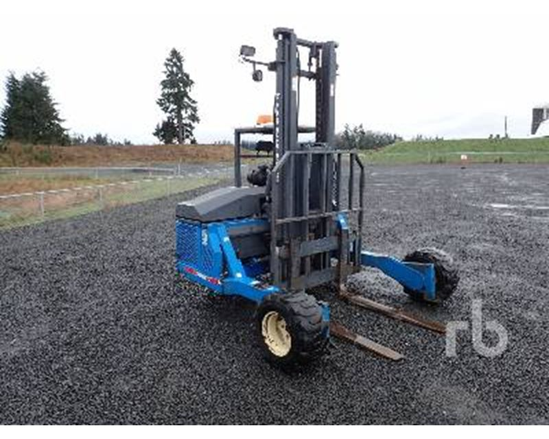 1998 Teledyne E33tx Mast Forklift For Sale Chehalis Wa