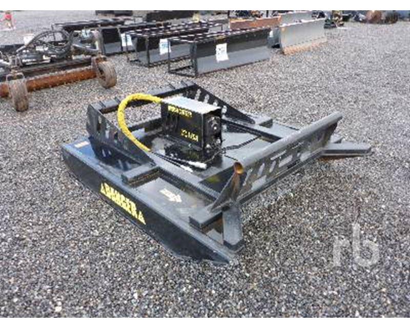 Skid Steer Brush Hog : Wildkat ft hydraulic brush hog skid steer attachment for