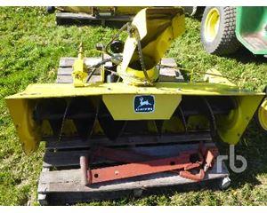 John Deere G0496 Snow Removal Equipment