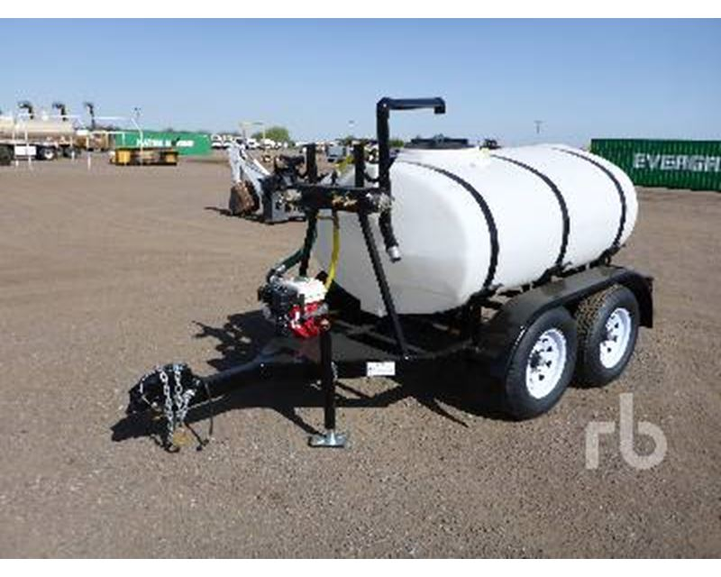 2015 Dog House 500 Gallon T A Water Tank Trailer For Sale
