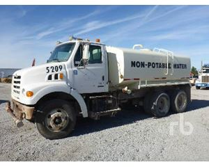 Sterling LT7500 Water Truck