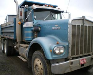Kenworth W923 Heavy Duty Dump