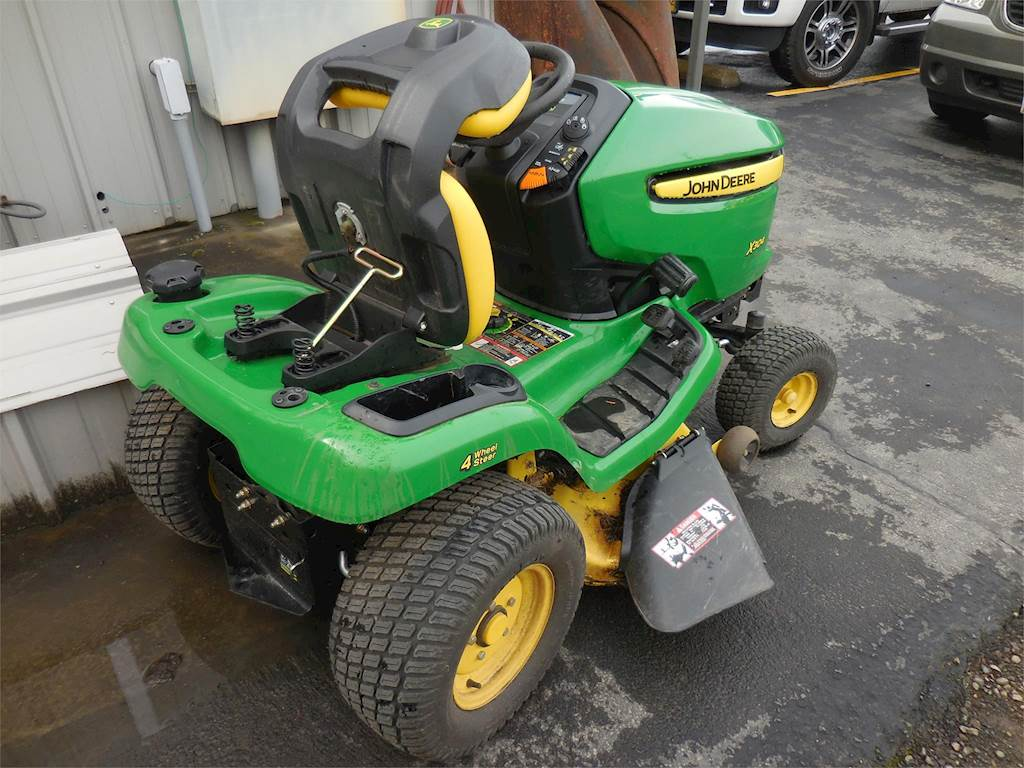 2014 john deere x304 riding lawn mower for sale 64 hours central point or c mhx304. Black Bedroom Furniture Sets. Home Design Ideas