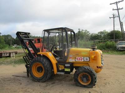2012 JCB 930 Rough Terrain Forklift Jcb Forklift Wiring Diagram on