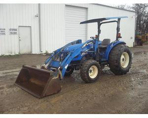New Holland TC55DA Tractors - 40 HP to 99 HP