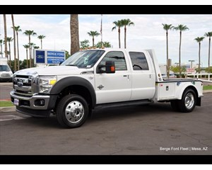 Ford F-550 4x4 crew Cab & Chassis 4X4