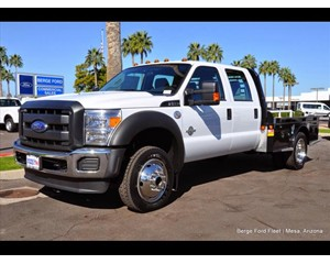 Ford F-550 Flat Bed