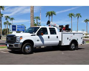 Ford F-350 Crew Cab 4X4 Mechanics Body