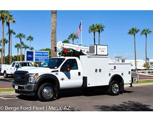 2016 Ford F-450 Reg Cab Mechanics Crane Body