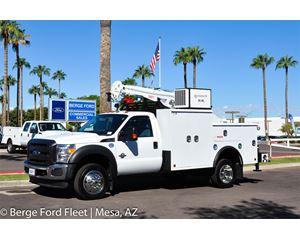 2016 Ford F-450 Reg Cab Mechanics Crane Body
