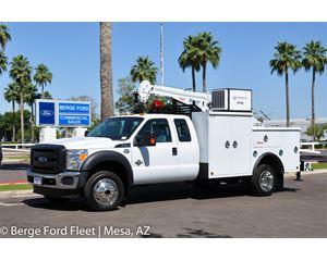 Ford F-550 Crane Truck