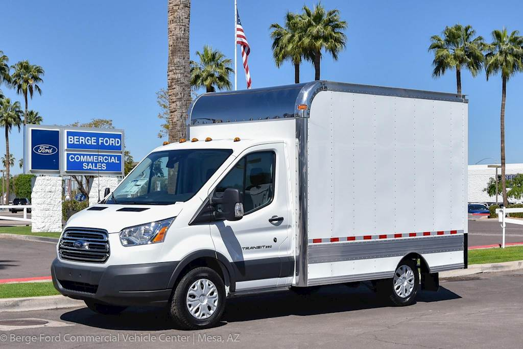 2018 Ford Transit 250 Box Truck Body For Sale 15 Miles