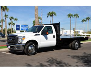 Ford F-350 Flatbed Truck